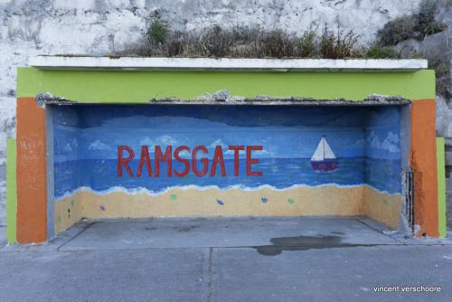 UK, Ramsgate, bustop
