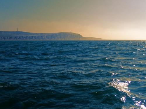 Côte d'Opale septembre 2021 En mer.