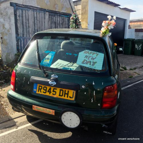 UK, Littlehampton, car