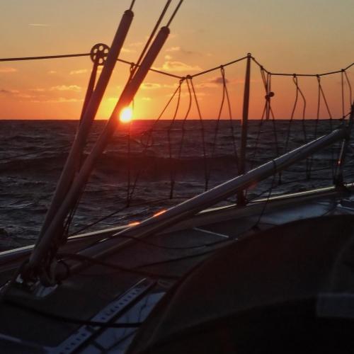 Côte d'Opale septembre 2021 - En mer.