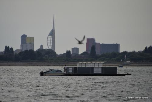 UK, Portsmouth de Langstone Harbour