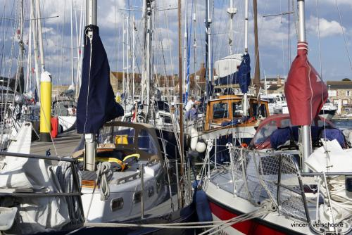 UK, Lymington harbour, Solent