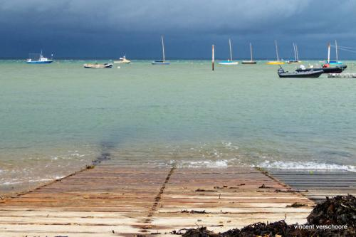 UK, Yarmouth, Solent, Isle of Wight