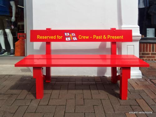 Cowes, Isle of Wight, bench