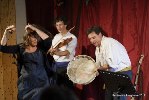 Septembre Imaginaire - Errance - Chansons populaires de France et d'Italie.