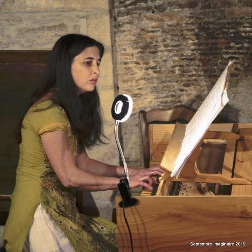Septembre Imaginaire - Zohar Sherfi - Cinq compositeurs dans un clavecin.
