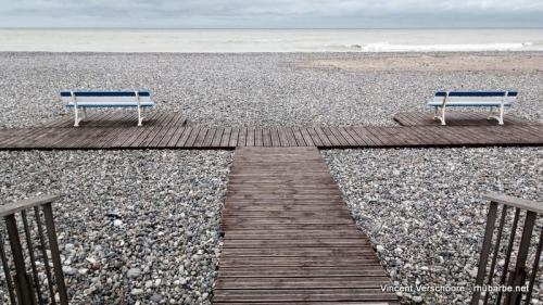 Le Tréport, Mers-les-Bains, Normandie, octobre 2020, plage