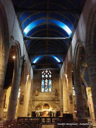 Morlaix. Eglise Sainte Melaine.