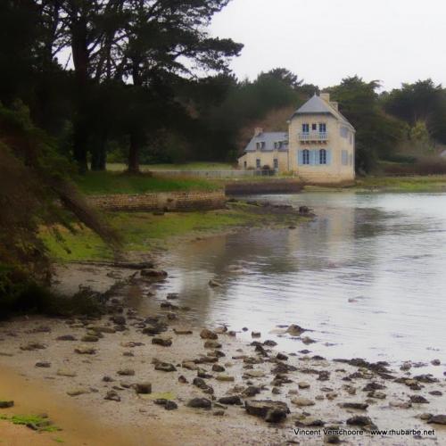 Loctudy, rivière de Pont-l'Abbé