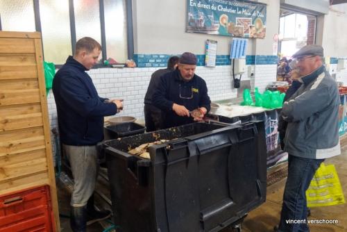 Berk-sur-Mer. Les pêcheurs vendent leurs coquilles st-jacques.
