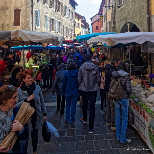 Annecy, marché