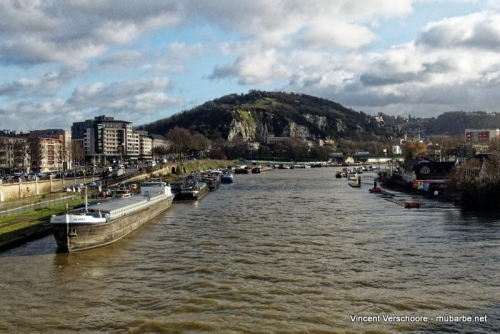 Rouen. La Seine.