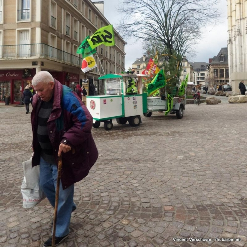 Rouen. Centre ville.