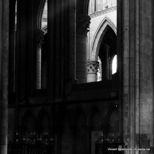 Rouen. Cathédrale Notre-Dame. Intérieur.
