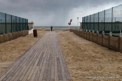 Deauville. Front de mer. Planches.