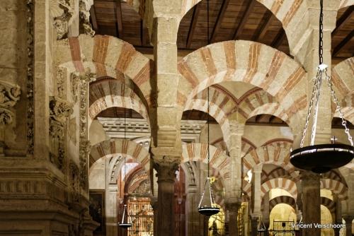 Mezquita.  Cordoue, Espagne.