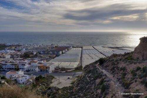 Mer de plastique. Alméria, Espagne.