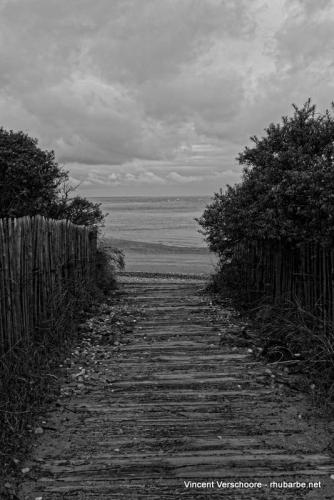 Pointe du Hourdel, baie de Somme.