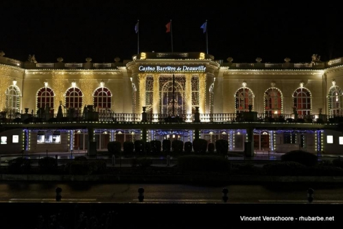 Deauville by night. Casino.