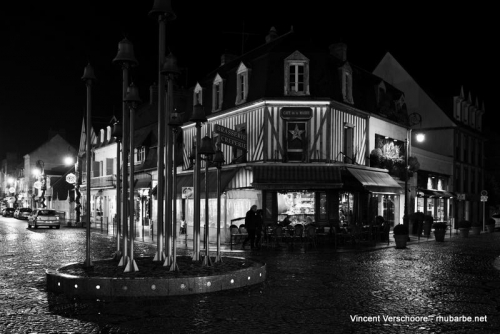 Deauville by night.