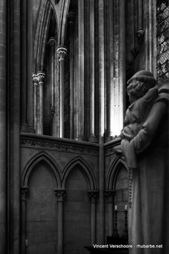 Bayeux. Cathédrale. Intérieur.