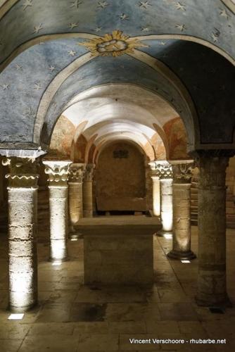 Bayeux. Cathédrale. Crypte.