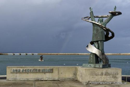 Port en Bessin. Disparus en mer.