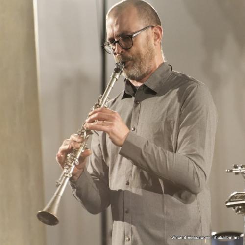 Matthieu Donarier. Farinier de Cluny, festival Septembre Imaginaire.