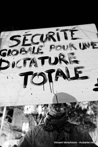 Loi sécurité globale, Chalon-sur-Saône,, LDH, 17 novembre