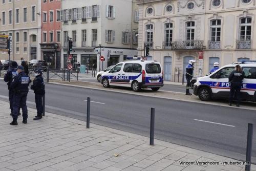 Mâcon Manif anti-loi sécurité
