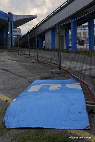 Post-humanité. Gare maritime de Boulogne-sur-Mer.