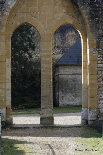 Abbaye d'Orval - ruines.