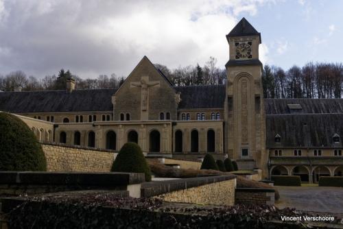 Abbaye d'Orval - nouveaux bâtiments.