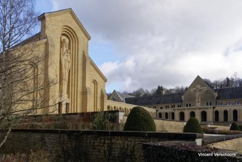 Abbaye d'Orval - nouvelle église