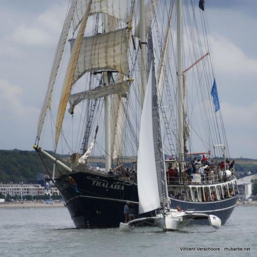 Vieux gréements Boulogne-sur-Mer. Fêtes de la mer.