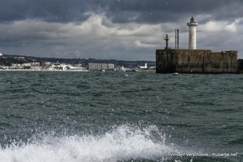 Entrée rade de Boulogne.