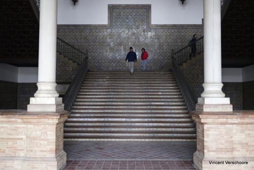 Place d'Espagne. Séville, Espagne.